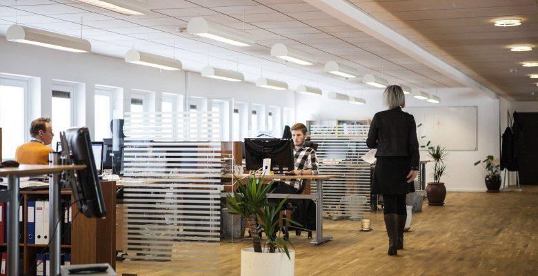 Des locaux professionnels bien entretenus pour une entreprise en bonne santé